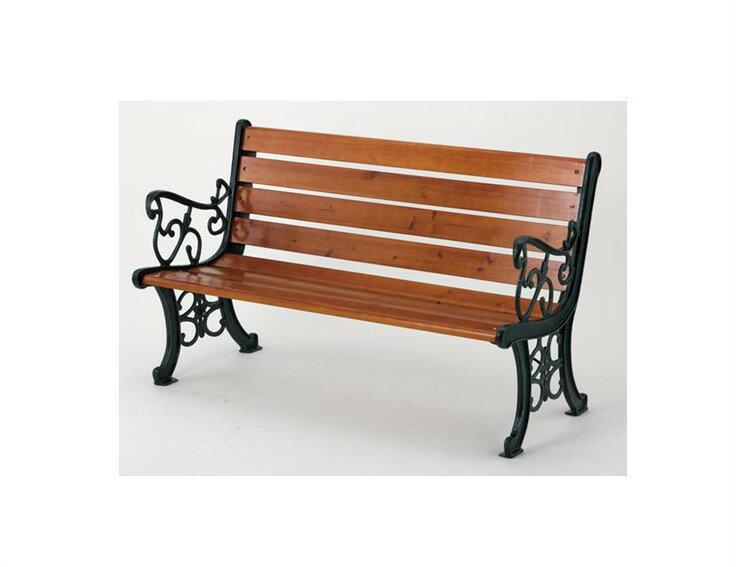 【5/20限定 楽天カードでポイント10倍】ガーデンベンチ 武田コーポレーション G-240B 材質:スチール・天然木 組立品
