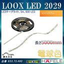 LOOX LED 2029 【HAFELE】 LED テープライト 5m 600 LED 12Vシステム 調光対応 電球色 833.73.490