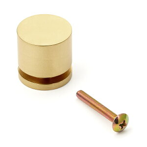 真鍮つまみ KHE107型 スガツネ LAMP KHE107-25PB つまみ 鏡面研磨、クリアー仕上
