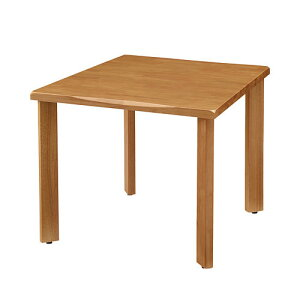 UD Table 天然木テーブル(なぐり加工縁) 【TAC】 UFTRWT9090-4SL-NA 脚:ストレートタイプ【個人宅不可商品】