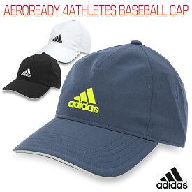 アディダス AEROREADY 4ATHLETES BASEBALL CAP メンズ/レディース/キッズ/子供 キャップ ブラック/ホワイト/ネイビー 51-54cm/54-57cm/57-60cm/60-63cm 25609