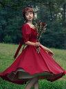 クラシックロリータOPドレスキャットハイネスキャロルマナーロリータワンピースドレス