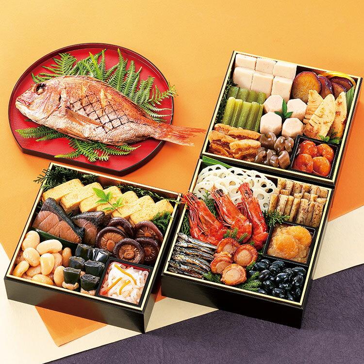 おせち料理(吉備)3〜4人前 本格おせち 和風 和食 鯛
