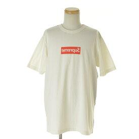 【期間限定値下げ】SUPREME × COMME des GARCONS SHIRT / シュプリーム × コムデギャルソン シャツ13SS Box Logo半袖Tシャツ【cabjacag-m】
