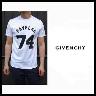 Givenchy in 2000s (GIVENCHY) Givenchy men's crew neck T shirt PYREX numbering short sleeve T shirt 14S 7303 651 2014 spring summer SS new brand new