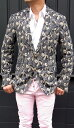 ガブリエレ パジーニ(GABRIELE PASINI)メンズ ペイズリー織り柄ジャケット サイドベンツ/シングル2015SS春夏新作 Gabr…