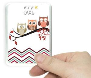 発送は切手を貼り普通便で発送,防犯グッズ ドアスコープカバー owlステッカ追加