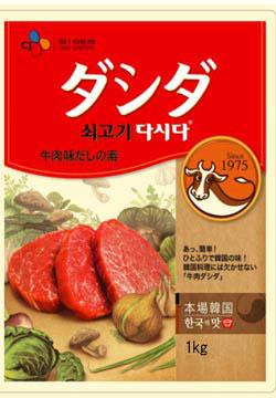 【CJ】 牛肉ダシダ1kg