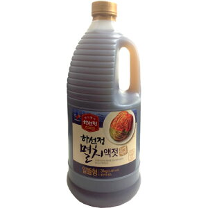 【韓国食品/韓国食材/キムチ材料】 ハソンジョン イワシエキス 3kg