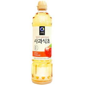 【韓国食品・調味料】 清静園 りんご酢 900ml