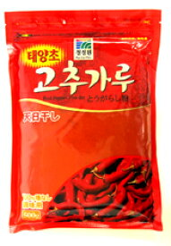 チョンジョンウォン 唐辛子粉(調味用)500g