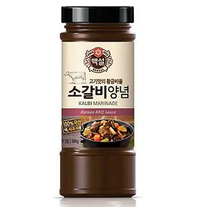 白雪 牛肉カルビ タレ 290g韓国食品■韓国料理/韓国食材/調味料/韓国ソース/焼肉用ソース/たれ