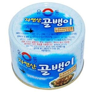 【ユドン】 自然産つぶ貝缶詰 140g
