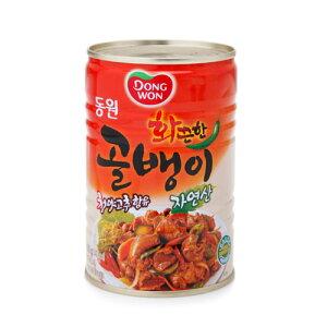 【特価・東遠】ドンウォン 辛口 自然産つぶ貝缶詰 400g★¥999→¥890(税別)