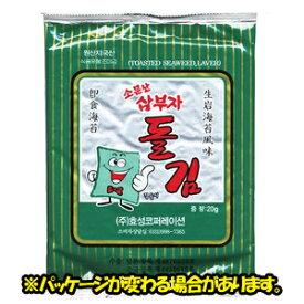 「三父子」サンブジャ海苔(全形)20g(6枚) 【韓国食品/韓国食材/韓国海苔/のり/おつまみ/韓国料理】