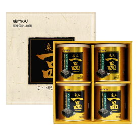 【GOSEI】宋家一品のり缶 ギフトセット[8切x54枚(30g)X4缶入]