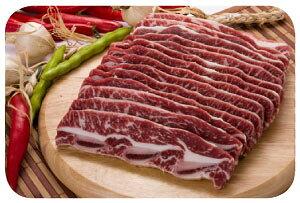 【牛肉/輸入産】特上LAカルビ 1kg★クール便選択対象商品★