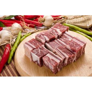 【牛肉】【輸入産】 特上骨付きチム用カルビ1kg★クール便選択対象商品★