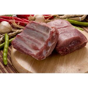 【キャンプ&BBQ】【豚肉】【輸入産】『量り売り』豚スペアリブブロック1kg★クール便選択対象商品★
