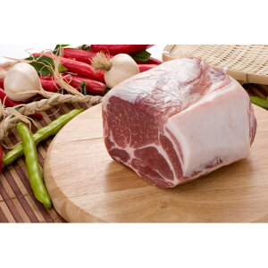 【キャンプ&BBQ】【豚肉】【輸入産】『量り売り』 豚肩ロースブロック1kg★クール便選択対象商品★