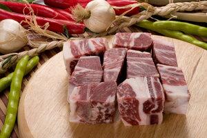 【牛肉】【輸入産】 骨付きチム用カルビ 1kg★クール便選択対象商品★