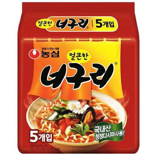 【農心】ノグリラーメン(辛口) 120g(5食パック)★1個当たり¥95(税込)