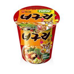 【韓国食品・ラーメン】 農心 ノグリラーメンカップラーメン62g