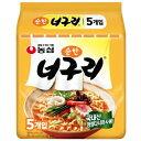 【農心】ノグリラーメン(純味) 120g(5食パック)★1個当たり¥95(税別)