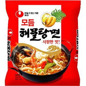 【韓国食品・韓国ラーメン】 農心 ヘムルタン麺(海鮮ラーメン) 125g