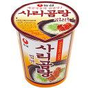 """【農心】サリコムタンカップ麺(小)61g『牛骨だしの""""辛くない""""韓国カップ麺です』"""
