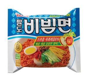 【韓国食品・韓国ラーメン】パルド ビビムラーメン 130g 1BOXx40個 [1個当り¥¥110(税別)] 『季節商品』