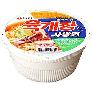 【農心】ユッケジャンカップラーメン86gx24個[1箱以上値上げ1個当り¥98(税別)]