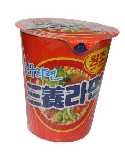 サンヤン(三養) カップラーメン62g 【韓国食品/韓国食材/ラーメン】