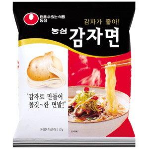 【韓国食品/韓国食材/韓国麺/ラーメン】【農心】カムジャ麺117g (じゃがいもラーメン)