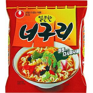 【韓国食品・ラーメン】 農心 ノグリラーメン120g