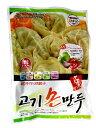 【韓国食品・冷凍餃子】 ヂョンマル 手作り肉マンドウ420g 〔クール便〕