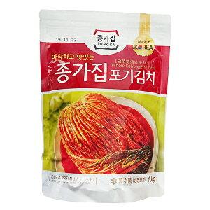 『韓国産キムチ』【宗家】 白菜キムチ1kg