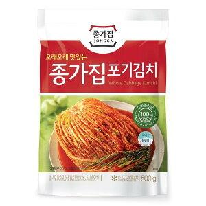 『韓国産キムチ』【宗家】 白菜キムチ500g★クール便選択対象商品★