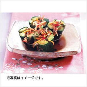 【韓国食品・キムチ】自家製 キュウリキムチ 1kg ★クール便選択対象商品★