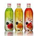 3種類ジューシ楽マッコリ炭酸入り(7122梨、7124りんご、7123木いちご、)750ml ・6度