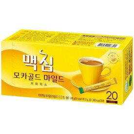 【韓国食品・コーヒー】マキシム モカゴールドミックス 20包