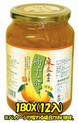 【宋家】 柚子茶1kgx5本 「5個以上値下げ1個当り¥580(税別)」