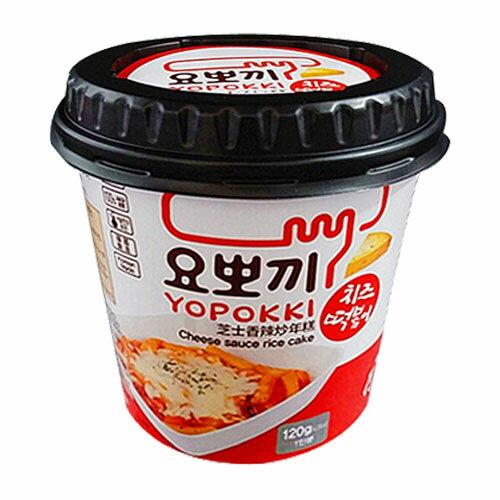 【ヘテ】即席カップチーズトッポキ ヨポキ 120g