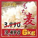 ☆もち麦 6kg 【1kgX6個】新麦29年産 ダイエットもちむぎ 大麦 麦 βグルカンを含有する 麦ご飯 雑穀の麦 韓国食品 健康 食物繊維を豊…