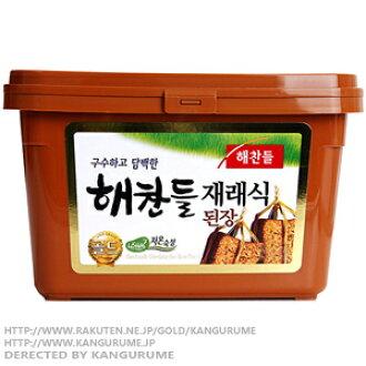 500 g of ヘチャンドル miso ■ Korea food ■ Korean food / Korea food / seasoning / Korea source / Korea miso / convention type miso / miso soup