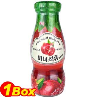 'LOTTE' Pomegranate juice bottles 180ml×48 book ■ Korea food ■ Korea / Korea beverages and Korea drink / Korea juice / drink / beverage / juice / soft drinks / drinks / low-price /Shinee Temin