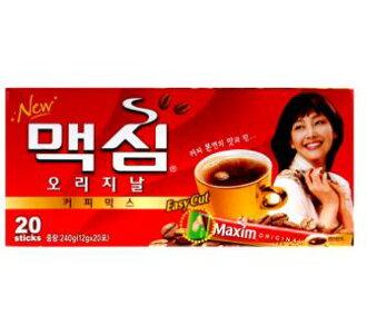 Original Maxim coffee mix 20 PCs ■ Korea food ■ Korea cuisine and Korea food materials / coffee / Korea drinks / soft drinks / souvenir / / Korea souvenir gifts and Midyear / gift / presents / you gift