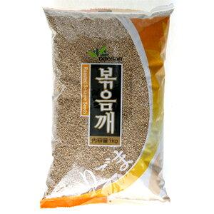 「大山」いりごま 1kg ■韓国食品■ ヘルシー!旨い!韓国の穀物で健康な食生活。韓国の豆/韓国穀物/穀物/激安【YDKG-s】