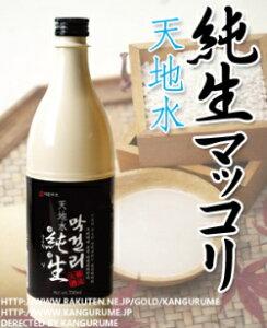 ◆冷蔵◆マッコリ 生「天地水」純生マッコリ750ml×...