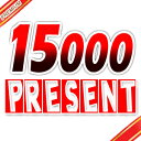 15000 present